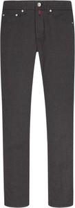 Czarne jeansy Pierre Cardin z bawełny w stylu casual