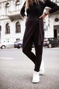 Jeansy Bastet Fashion w stylu casual z dzianiny