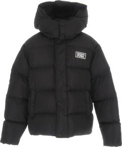 Czarna kurtka dziecięca Dsquared2 dla chłopców