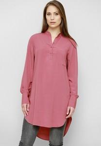 Różowa bluzka Freeshion w stylu casual