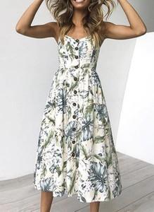 Sukienka Arilook z dekoltem w kształcie litery v na ramiączkach