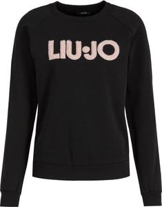 Czarna bluza Liu Jo Sport w stylu casual krótka