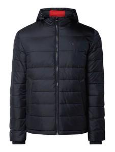 Granatowa kurtka Tommy Hilfiger w młodzieżowym stylu