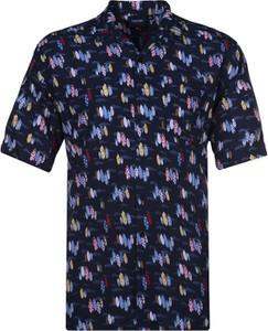 Koszula Espionage z krótkim rękawem z klasycznym kołnierzykiem z tkaniny