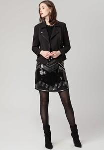 Spódnica Solar midi w stylu glamour z tkaniny