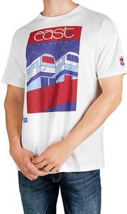 T-shirt Pepe Jeans z nadrukiem z krótkim rękawem