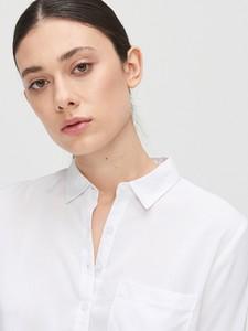 Bluzka Cropp w stylu casual z długim rękawem z dekoltem w kształcie litery v