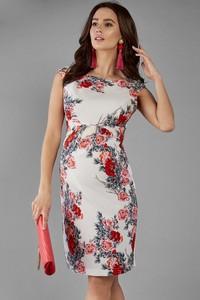 de01ee28fc sukienki ciążowe w kwiaty - stylowo i modnie z Allani