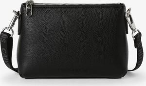Czarna torebka Calvin Klein ze skóry na ramię