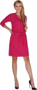 Różowa sukienka MERRIBEL w stylu casual