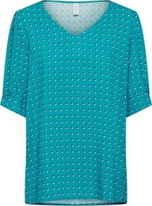 Bluzka Soyaconcept w stylu casual z okrągłym dekoltem