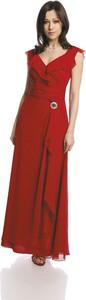Sukienka Fokus rozkloszowana w stylu boho