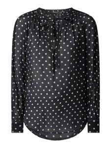 Bluzka POLO RALPH LAUREN z okrągłym dekoltem z długim rękawem