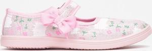 Różowe trampki dziecięce born2be