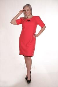 Sukienka Fokus oversize z krótkim rękawem w street stylu