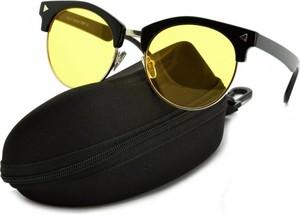 Stylion Rozjaśniające okulary do Jazdy Nocą dla kierowców Clubmaster ST104