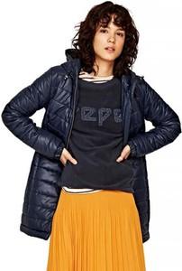 Granatowy płaszcz Pepe Jeans w stylu casual
