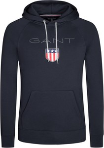 Czarna bluza Gant z bawełny