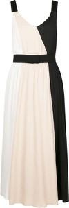 Sukienka Marella rozkloszowana z jedwabiu maxi