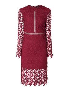 Czerwona sukienka Bardot