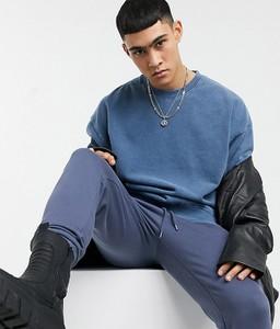 Niebieska bluza Reclaimed Vintage z dresówki