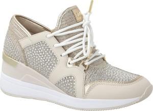 Sneakersy Michael Kors na koturnie sznurowane