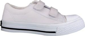 Buty sportowe dziecięce producent niezdefiniowany z bawełny