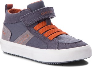 Buty dziecięce zimowe Geox na rzepy