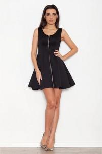 Sukienka Katrus trapezowa mini bez rękawów