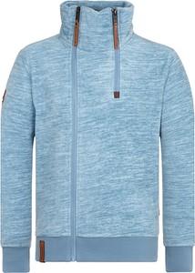 Niebieska bluza Naketano z dresówki w stylu casual