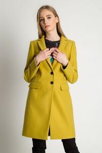 Płaszcz BIALCON w stylu casual z wełny