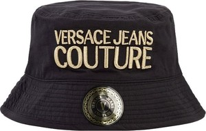 Czarna czapka Versace Jeans