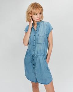 Sukienka FEMESTAGE Eva Minge z jeansu mini
