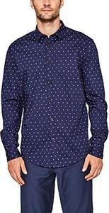 Granatowa koszula esprit