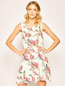Sukienka Roxy mini rozkloszowana w stylu casual