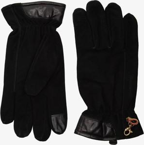 Czarne rękawiczki Timberland