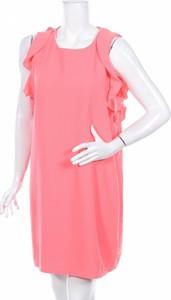 Sukienka Cameieu z okrągłym dekoltem mini