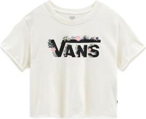 T-shirt Vans z krótkim rękawem z okrągłym dekoltem