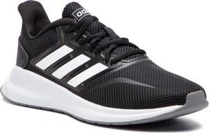 Buty sportowe Adidas w sportowym stylu z płaską podeszwą sznurowane