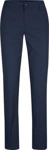 Niebieskie spodnie bonprix z bawełny