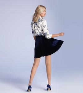 Granatowa spódnica Top Secret mini