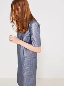 33277a1d47 simple sukienka z kokardą. - stylowo i modnie z Allani