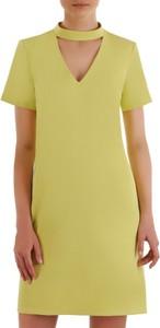 Żółta sukienka POLSKA