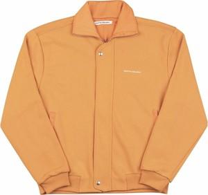 Pomarańczowa kurtka Martin Asbjørn krótka w stylu casual