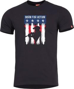 T-shirt Pentagon z krótkim rękawem w młodzieżowym stylu