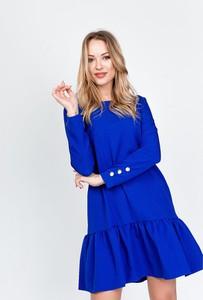 Sukienka ZOiO.pl mini rozkloszowana w stylu casual