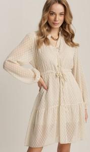 Sukienka Renee w stylu casual mini z kołnierzykiem