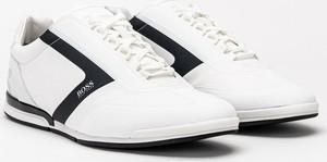 Buty sportowe Hugo Boss sznurowane w sportowym stylu