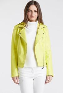 Żółta kurtka Monnari krótka w stylu casual