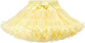 Żółta spódniczka dziewczęca Elefunt